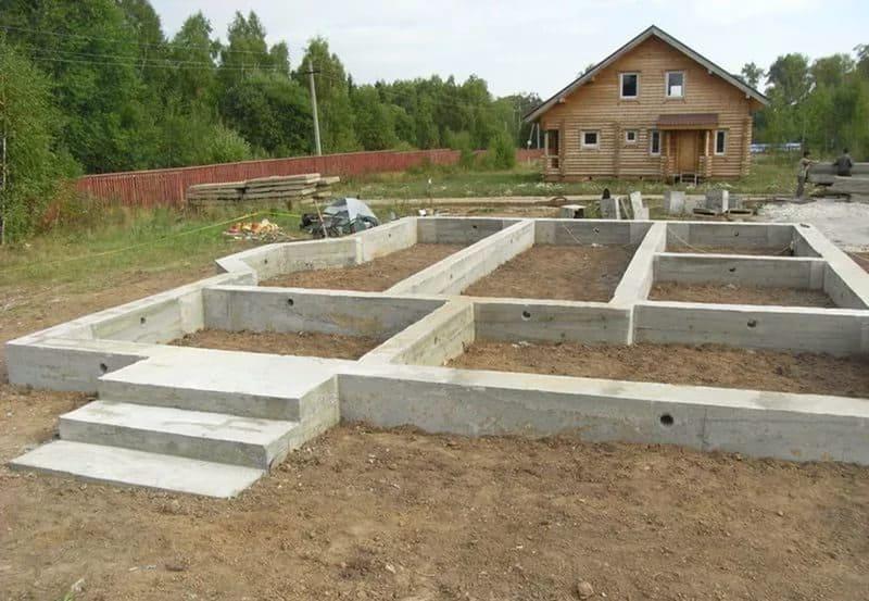 Создание фундамента для нового дома