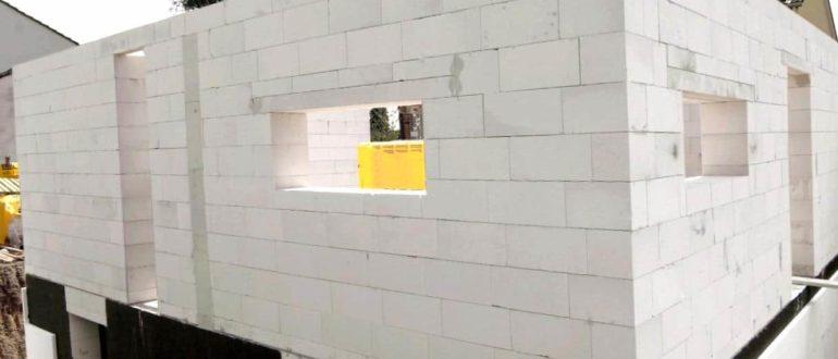 Строим дом из газобетона