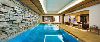 Варианты бассейнов в подвале