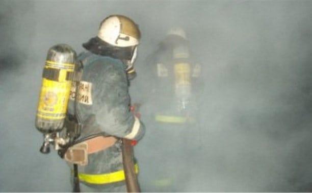 тушения пожара в подвале