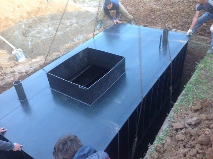 Металлический погреб