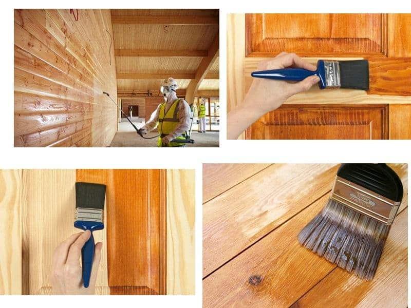Методы обработки древесной поверхности
