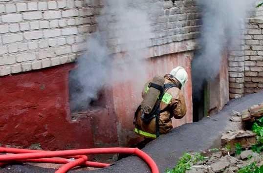 Особенности пожаров