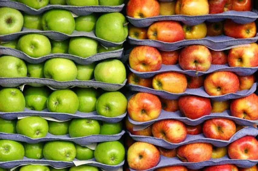 как подготовить яблока