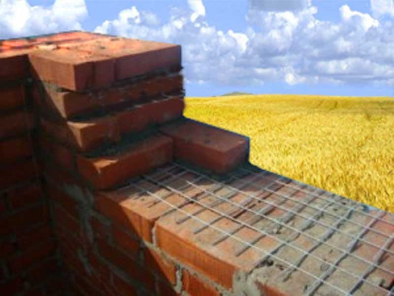 Кладка несущей стены